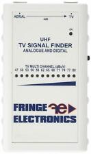 Fringe Electronics Aerial TV Terrestrial Signal Meter Finder for Home or Caravan