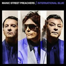 Manic Street Preachers - International Blue 7 Inch Blue Vinyl Single
