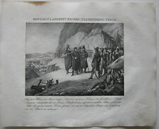 Napoleon Piemont Italia Orig Lithographie 1832 Napoleonische Kriege