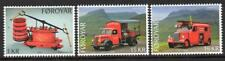 Faroe Islands Mnh 2016 Old Fire Trucks