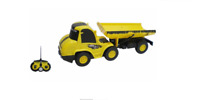 Radio controlled 1:20 scale construction tipper truck full function remote