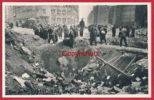 Foto-AK Hamburg / Trümmerbild 'Steinstraße' ~ 1945