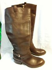 Women's IVANKA TRUMP Brown Tall Boots Size 8.5