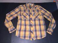 Salt Valley Western Plaid Western Long Sleeve Shirt Cowboy