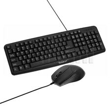 D5200 New USB Gaming Keyboard Wired Black Business Clean and Sleek Design