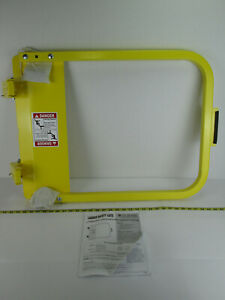 New NOS PS Doors Ladder Safety Gate LSG-30 Powder Coat Safety Yellow PCY