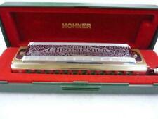 M.HOHNER Super Chromonica 270 Harmonica 48 Key C with Case/Long-selling model
