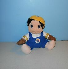 "12"" NFL Football Pittsburgh Steelers Little Child Blue Eyes Stuffed Plush"