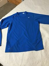 Nike Long Sleeve Running Shirt - Men's Medium
