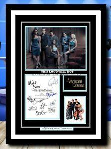 (487) vampire diaries  cast signed photograph unframed/framed  (reprint) @@@@@@@