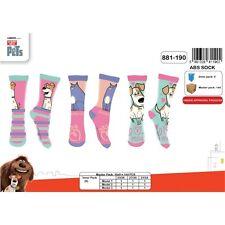 Calcetines niño Secret Life de Pets / Como de las mascotas set de 3 pares