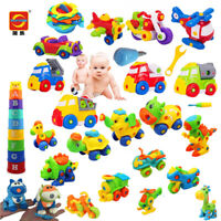Screw Nut Removable Building Blocks Children's Educational Toys Disassembly Toys