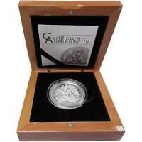 2018 Isle of Man Angel Piedfort 2 oz .999 Silver Coin Archangel Saint Michael