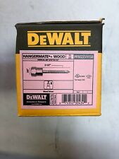 Dewalt 38 Zinc Plated Steel Vertical Mount Threaded Rod Anchor Pack Of 25