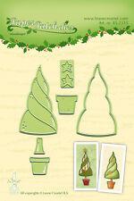LEA 'i settori di taglio e goffratura DIE carta Patch Tree 45.2335 Leane