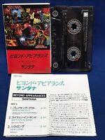 Santana Beyond Appearances Japan Cassette Tape 28KP 1208 1985 Val Garay