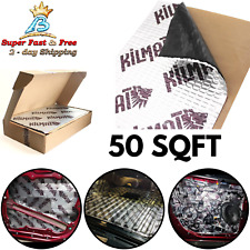50 SqFt Sound Deadener Mat Proofing Thick Insulation Material Noise Car