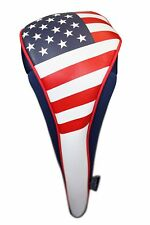 USA Patriot Golf Zipper Head Covers #3 Fairway Wood Headcover Neoprene Style