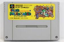 Super Mario World Bros 4 SFC Nintendo Super Famicom SNES Japan Import I7694