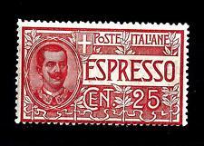 ITALIA - Regno - Espresso - 1903 - Effigie di Vittorio Emanuele III° 25 cent.