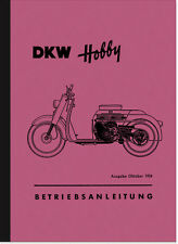 DKW HOBBY SCOOTER manuale d'uso manuale di istruzioni manuale
