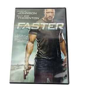 Faster DVD 2011 Dwayne Johnson Billy Bob Thornton Widescreen Action