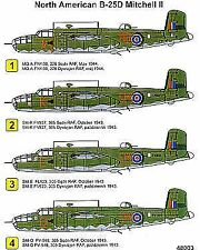 TECHMOD 1/48 North-American B-25D Mitchell # 48003