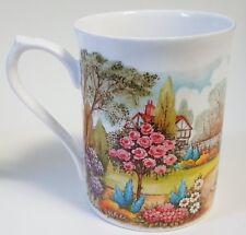 Roy Kirkham English Garden Coffee Mug Cup Fine Bone China England Gazebo