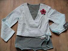 TOFF TOGS schönes Shirt / Jacke im Lagenlook Gr. 128 NEU ST817