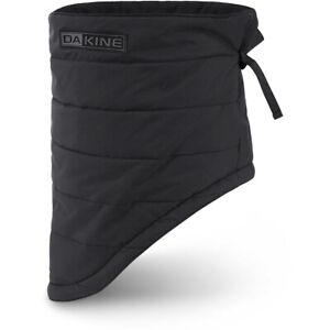 Dakine Lofty Neck Warmer Fleece Lined Facemask Unisex Solid Black New 2021