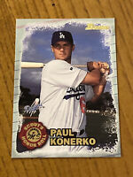 Vintage MLB 1997 Bowman SHR #SHR4 PAUL KONERKO RC Dodgers White Sox 1B NM/Mt SP