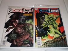 DC Comics Checkmate #1,2   2006  JLA Max Lord