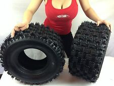 TWO 20x10-9 NEW ATV TIRES (PAIR) Yamaha Raptor 660 700 4 PLY