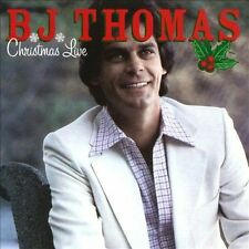 "B.J. THOMAS, CD ""CHRISTMAS LIVE"" NEW SEALED"