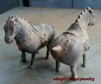 Favorites Lucky a pair horse ancient statues Bronze statue