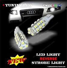 2 AMPOULES STROBOSCOPIQUE FLASHING CAR  W5W 21 LED SMD REVERSIBLE ANTI ERREUR