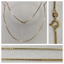 Venetian Necklace 333 Gold Chain Jewellery 50 cm