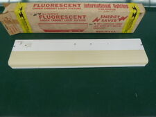 "Nos! International Lighting, M 120 Under Cabinet Light Fixture, 24"" White"