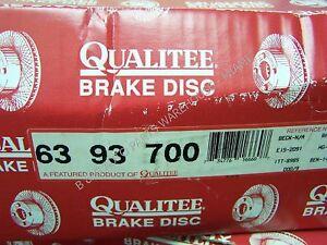 Qualitee D93700 Rear Brake Drum fits Chevrolet Blazer GMC Jimmy Chevy