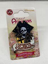 Pin Disney Pirates Caraïbes POTC DLRP DLP Disneyland Attractions Series Pin OE