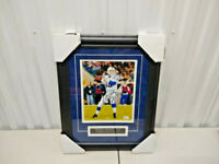 Peyton Manning Colts Autographed 8x10 Photo Framed & Matted JSA COA