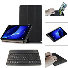 Bluetooth Keyboard Cover Case Tablet Stand For Samsung Galaxy Tab A6 T580 T585