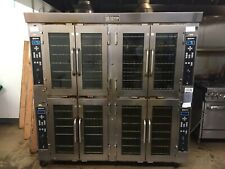 Doyon Jet Air Gas Convection Quad Bakery Oven Ja28G with Steam Injector