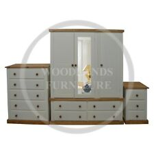 HANDMADE COUNTRY 3 PIECE BEDROOM SET, MANY COLOURS AVAILABLE (ASSEMBLED)