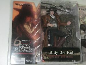 Billy the Kid Red Rope Variant McFarlane Monsters series 3, 6 Faces of Madness