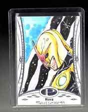 2014 Marvel Premier Nova sketch card