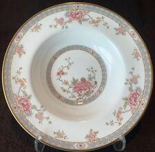 """Royal Doulton Canton Gold Rimmed Soup Bowl 8"""" Dia Quantity! Flowers"""