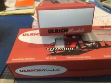 EMPTY UNUSED ULRICH MODELS TRUCK BOXES