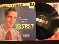 ERNEST TUBB - The Importance Of Being Ernest - 1959 Vinyl 12'' Lp./ VG+/ Country