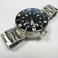 San Martin New Men100ATM Stainless Steel Diving Watch Automatic Watch Sapphire